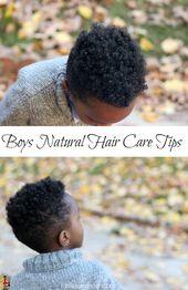 Natürliche Haarpflegetipps für Jungen   – Natural Hair Kids