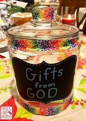 Wie man dankbare Kinder großzieht – Machen Sie ein Dankbarkeitsglas für die Familie – Attitude of Gratitude | Gratitude Quotes & activities