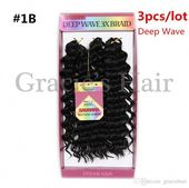 2019 Deep Wave Synthetic Hair Extension Freetress Crochet Kinky Curly Synthetic Deep Wavy Crochet Braids Afro Kinky Twist Braids Hair 10inch From Graciehair, $22.12 | DHgate.Com