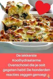 Koolhydraatarme ovenschotel met spinazie en kip: Makkelijk en snel! – koolhydraatarm eten