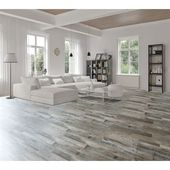 Goodfellow Weathered Barnwood Oak 5-mm Luxury Vinyl Plank Flooring (7.08-in W x 48-in L)
