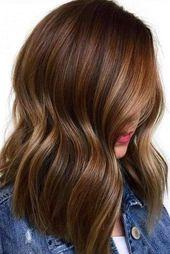 55 Hervorgehobenes Haar für Brünette | LoveHairStyles.com   – short hair