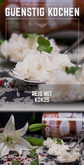 Reis mit Kokos Video Rezept