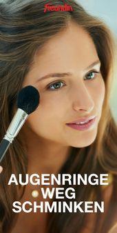How To-Video: Augenringe richtig wegschminken
