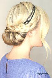 hairstyles hair band ideas dutt braid hairstyle | Ladies hairstyles # hairstyles hair band, hairstyles hair band ideas dutt braid hairstyle