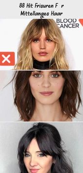 88 hit hairstyles for medium length hair – DE – medium length hairstyles with bangs, updo idea, elegant woman for special occasion #frisu …