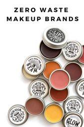 14 Zero Waste Makeup-Optionen für Glamming Up und Going Green
