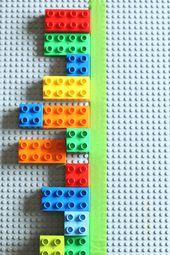 Mit LEGO Bricks Vorschulkindern Symmetrie beibringen   – Simetrija