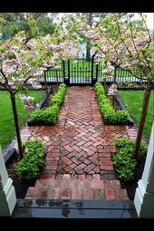 65 Stunning Front Yard Garden Pathways Landscaping Ideas – Sona Bernoon