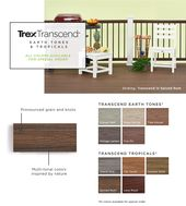Trex Transcend 16 Ft Spiced Rum Grooved Composite Deck Board Lowes Com In 2020 Composite Decking Boards Composite Decking Trex Composite Decking Colors