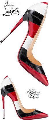 Brilliant Luxury by Emmy DE ♦ Christian Louboutin 'So Kate' #ChristianLoubouti…