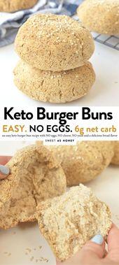KETO BURGER BUNS AUCUN OEUFS #ketoburger #ketobread #ketobuns #burgerbuns #glutenfre …