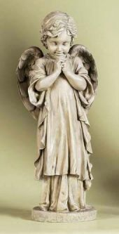 Joseph Studio 26 Inch Praying Angel Garden Statuary From The Official Faithfulchristianstore Com Memorial Statues Angel Statues Statue