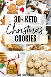 This collection of gluten-free, low carb & sugar-free Christmas cookies recipes …