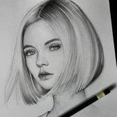 Drawing Art Femininity