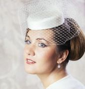 Vintage Bridal Hairstyles With Veil Pillbox Hat 53+ Ideas