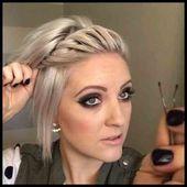 Haarband Frisur Kurzes Haar Für kurze Frisuren Damenfrisuren – Frisuren Lange …,  #Damenfri…