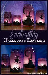 20 Kreative Mason Jar Crafts für Halloween