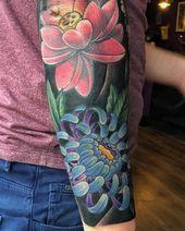 10 Fresh Chrysanthemum Tattoos