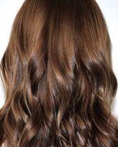 Dies sind die 6 größten Haarfarbtrends für das Frühjahr 2018. #chocolatebrownhair