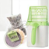 Haustier Hund Katzenstreu Schaufel Haustier Reinigungswerkzeug Scoop Sieben Katze Sand Reinig… – Katzen