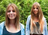 Kurzhaarfrisuren vorher nachher. #Frisurentrends Frisurentrends2019 #Frisuren #Trendige – Berthe Nic.