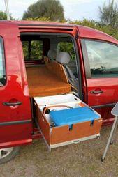 30 Dumma Mini Van Camping-idéer