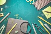 Education or back to school background – Stock Photo , #Ad, #school, #Education,…