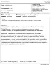 Case Notes Template  Case Note Format  Dap Charting  Home