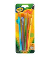 Crayola 5 Ct Art Craft Brush Set Crayola Art Paint Brushes