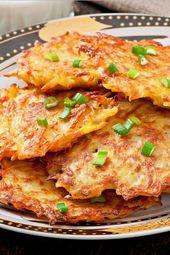 Crispy German Potato Pancakes   – Brazilian cheese puffs