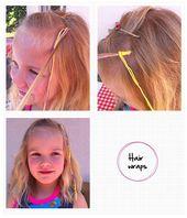 Je ziet ze elke zomer weer: hair wraps! Met de stap-voor-stap uitleg van Hiskia … – Haar meisjes