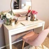 Mach dich stilvoll fertig [How to Glam Up Your Vanity or Office Space] Was für eine großartige Wahl …