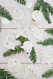10 idées de décorations en pâte autodurcissante maison – Tu as envie de te la…