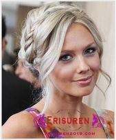 Shoulder-length hair for women