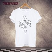 One Line Drawing T Shirt