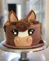 Pferdekuchen, Ponykuchen, Geburtstagskuchen, Pferdemotivkuchen – #Geburtstag ….. – Torten
