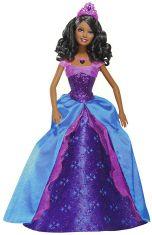 2008 The Diamond Castle Princess Alexa Black Barbie Doll M0790