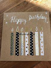 Sehr einfach, aber wenn Sie es ordentlich machen, macht es Spaß #diy_birthday_w