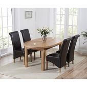 Chantal Essgarnitur mit ausziehbarem Tisch und 4 Stühlen Home Etc Polsterfarbe: …   – Products