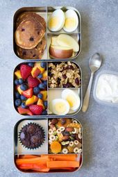 10 Healthy Lunch Ideas for Kids! Bento box lunchbo…