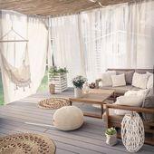 Photo of 5 Piece Garden Sofa Set Acacia Wood TIMOR – #Acacia #cottage #Garden #pièce #SE…