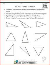 Geometry Worksheets Angles Worksheets For Practice And Study Angles Worksheet Geometry Worksheets Free Math Worksheets
