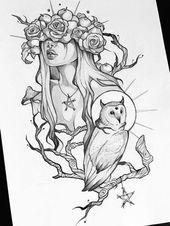 Mist Original pencil art concept sketch original acrylic art A4 (20×30 cm) – Etsy
