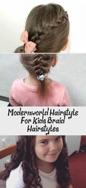 Modern-world Hairstyle For Kids: Braid Hairstyles – Mom and Baby