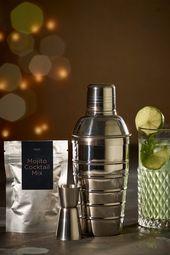 Cocktail Shaker Geschenkset   – Products