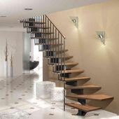 Escalier Droit 1 4 Tournant Ou 2 4 Tournant En Kit Sur Mesures