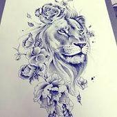 Bild Ergebnis für Sexy Bedeutung voller Löwen Tattoo Ideen für Frauen #lion_tattoo_ink