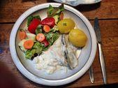 Marinierter Hering, gemischter Salat, Kartoffeln – Schnippelboy – #Mixed …   -… – Salat Rezepte