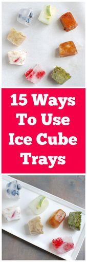 15 Creative Ways To Use Ice Cube Trays